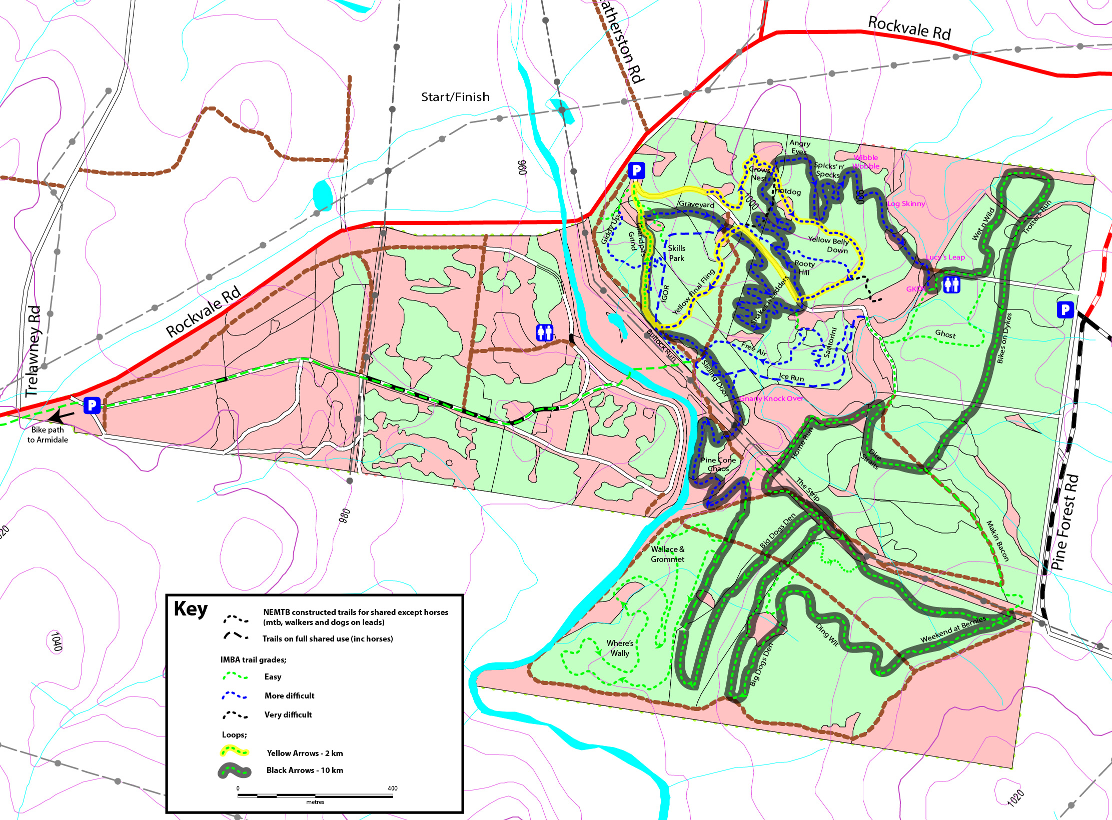 1910512 Armidale State Forest Trail Maps-02